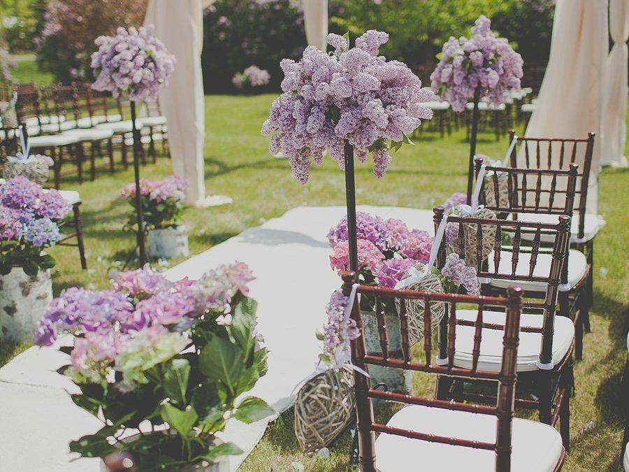 Elegant Lilac Inspired Wedding in Guelph
